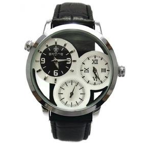 e1ec3614d88 Relógio Marca Skone Couro Preto P R O M O Ç Ã O ! ! ! ! - Relógios ...