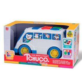 Onibus Escolar Didatico Tchuco Baby Samba Toys