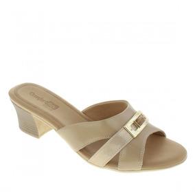 c4237e128 Sandália Amarela Sandalias Comfortflex - Sapatos no Mercado Livre Brasil