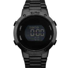 Relógio Euro Feminino Eubj3279ab/4p Preto Digital