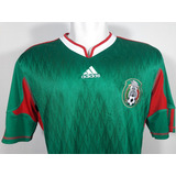 1bc95bbf85 Camisa adidas Mexico Home Copa Do Mundo 2010 Original