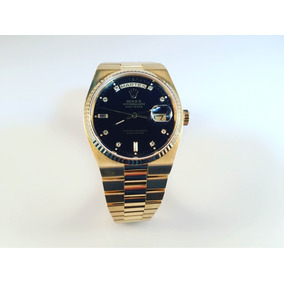 Rolex Day Date Oyster Quartz Ref 19018 De Oro Amarillo 18kt