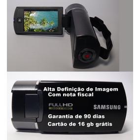 Filmadora Samsung Hmx-q10 Full Hd Alta Definição De Imagem
