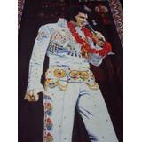 Unico Gobelino Americano 130 X 92 Elvis Exclusivo 1976