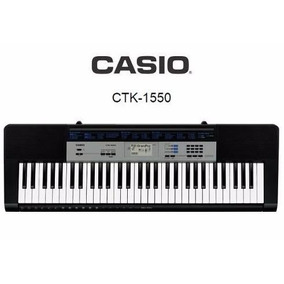 Casio Teclado Ctk-1550 5 Oitavas 61 Teclas