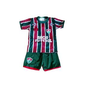 Uniforme Infantil Do Fluminense - Camisetas e Blusas no Mercado ... 96f46c321608d