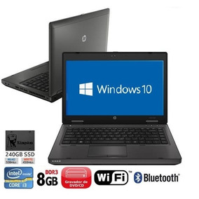 Notebook Hp 6460b Probook Core I3 8gb Ssd240gb