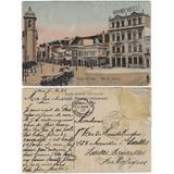 Rio De Janeiro 1909 Cartão Postal Largo Da Lapa Igreja Hotel