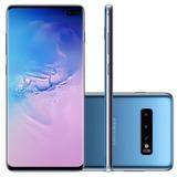 Samsung Galaxy S10+ Plus 128gb Azul Lacrado Nota Fiscal
