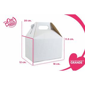 Caja Boxlunch Carton Micro Blanca Grande