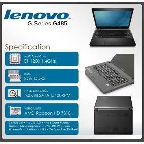 Laptop Lenovo G485 Usada Impecable