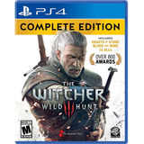 The Witcher 3 Wild Hunt (am) / Complete Edition / Ps4