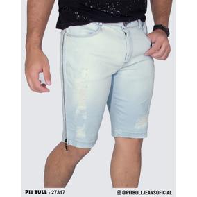 Bermuda Jeans Masculina Pit Bull Lançamento 27317