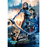 Poster Original De Cine Battle Angel Alita Cartel Guerrera