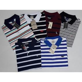 Camisa Polo Listrada Kit - Pólos Manga Curta Masculinas em Paraná no ... c52f3c5891907