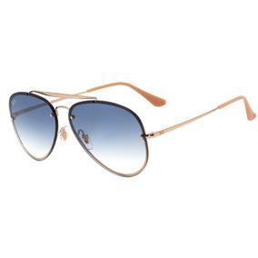 99ad18e0c070c Oculos De Sol Ray Ban Aviador Rb3584 Blaze Feminino Masculin