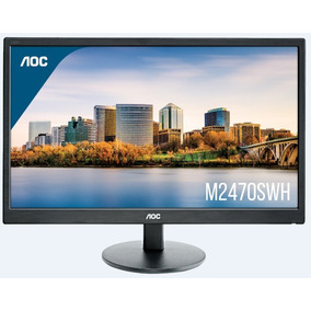 Monitor Aoc 24 Full Hd (vga - 2hdmi) - M2470swh