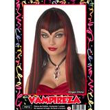 Peluca Vampireza Style - Fiesta & Eventos En La Golosineria