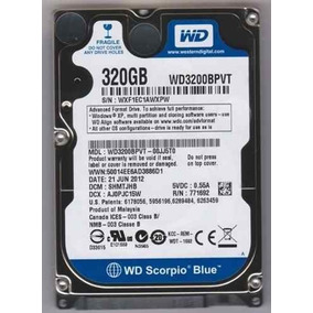 Drivers: Compaq 320 Notebook Western Digital HDD