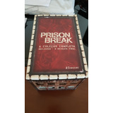 Box Dvd Prison Break - Série Completa + Resgate Final