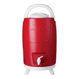 Garrafa Garrafão Térmico Quente/frio 12 Litros(vermelho)