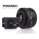 Lente Yongnuo Yn50mm F1.8 Canon Eos 60d 70d 5d2 5d3 600d