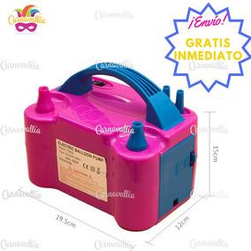 Bomba Eléctrica Rosa Para Inflar Globos - Envío Gratis -