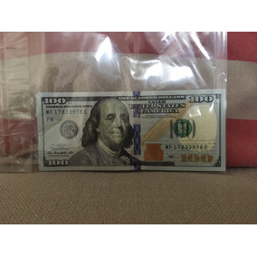 Cédula 100 Dólares - Usd 100 Dollar Coleção Estados Unidos