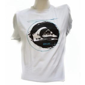 4135f3fba1559 Camiseta Quiksilver Original - Calçados, Roupas e Bolsas Branco no ...
