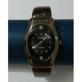 924b161d3c1 Relogio Feminino Coss Pulseira Retratil Bracelete Promoção