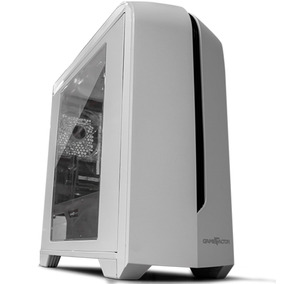 Game Factor Csg500 Gabinete Gamer Matx, Usb 3.0, 1 Vent, Sin