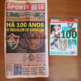 Coletânea Jornal + Revista - Centenário Fluminense 2002
