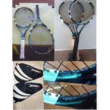 Par Raquetes Esporte Tenis Tennis Babolat Pure Drive L3 Usad