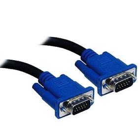 Cabo Vga Vga Monitor Pc Tv Projetor 1,5 Metro / Kit R$6,50