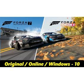 Forza Horizon4 Ultimate + Forza Motorsport7 Online -envio Já