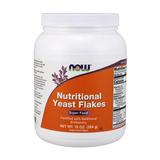 Levedura Nutricional Now Importada Nutritional Yeast Flakes