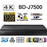 Reproductores Blu-ray,samsung Bd-j7500 - 2k 4k Upscale ..