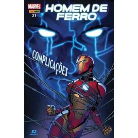 Hq Homem De Ferro Nº 21 Edição Setembro/2018 - Complicações