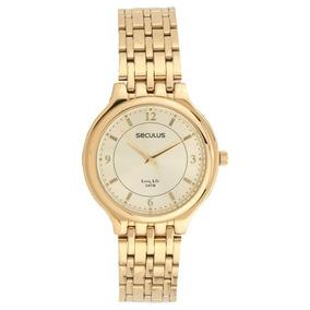 e9a6b888505 Relogio Feminino Dourado - Relógio Seculus Feminino em Rio de ...