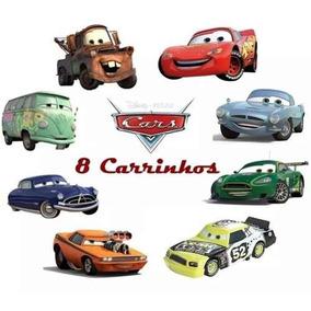 8 Carrinhos De Brinquedo Filme Carros 2 Mcqueen Car