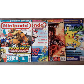 Lote Revista Nintendo World Mario Prince Of Persia Pokemon