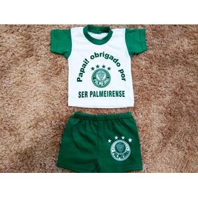 Conjunto Palmeiras Pra Bebe - Conjuntos Meninos de Bebê no Mercado ... d93c0a5f55528