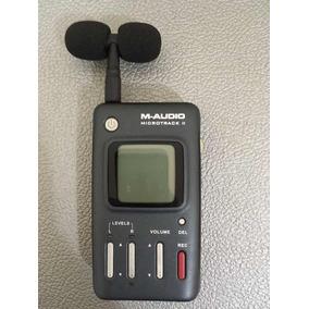 Gravador M-audio Microtrack 2