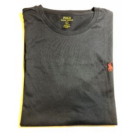Camiseta Masculina Polo Ralph Louren Azul Marinho Tamanho G