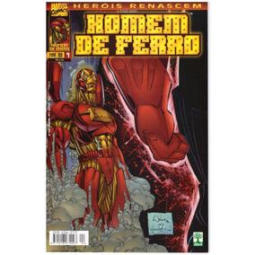 Homem De Ferro Heróis Renascem / Ed Abril