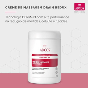 Promoção Drain Redux Reduxcel Creme De Massagem 1kg Adcos