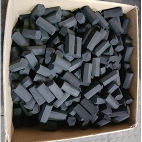 Carvão De Coco Hexagonal Para Narguile 10 Kg Granel