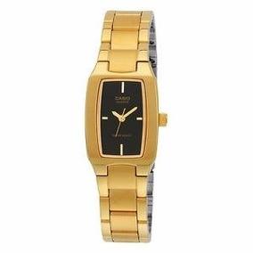 4a98cb3a471 Preto Ltp1165 Relogio Casio Ltp 1165 Feminino Dourado C - Relógios ...
