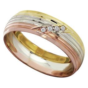 c23d3bd968ed Anillos Argollas Matrimonio Oro Florentino Mejor Precio Bfn ...
