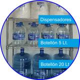 Agua Premium. 3º Bidón Sin Cargo! Bidones De 12 Y 20 Lts